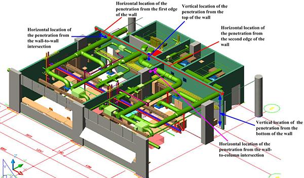 Hot Water Boiler Heating System Diagram in addition Plumbing Symbols besides BIM Model Coordination additionally HVAC Electrical Training Boards additionally Nursing Home Floor Plans. on residential plumbing system plan